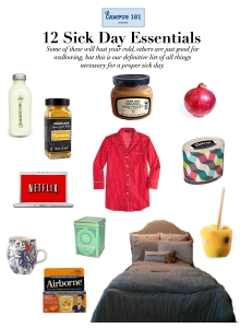 11sickdayessentials