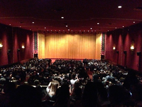 The inside of Ziegfeld Theatre